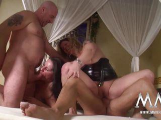 любительский групповой секс