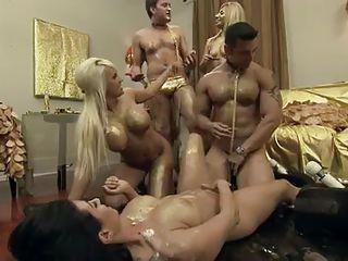Подборка порно группового секса