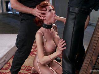 порно грудастая рыжая