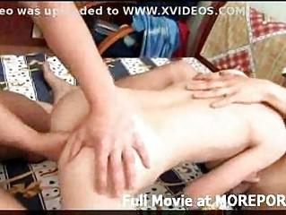 Двойное проникновение любительское порно видео